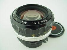 Nikon 55mm F/1.2 Nikkor-SC auto Non-Ai Manual focus lens
