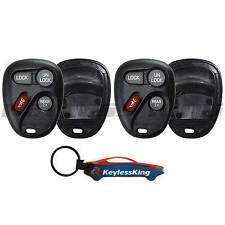 2 Replacement Remote Key Fob Shell Pad Case for 1998-2005 Chevy Blazer