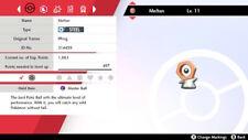 Pokemon Home Sword/Shield Shiny Meltan + Master Ball