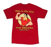 Disney Beauty And The Beast Gaston Your Dreams Come True Mens T Shirt S-2XL