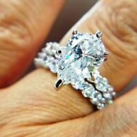 2.50 CT Pear Diamond Bridal Ladies Engagement Wedding Ring 14K White Gold Over