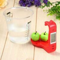 Measuring Cup Kitchen Scale Digital Cup Weight Scale Scales Electronic Red I1U7