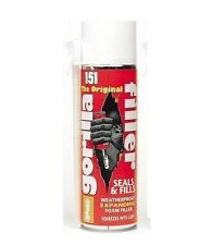 GORILLA FILLER WEATHER PROOF EXPANDING FOAM FILLER WINDOW  DOOR FRAME SEALANT