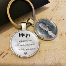 Personalised Bereavement Photo Keyring Mum Mother Mummy Gifts Memory Presents UK