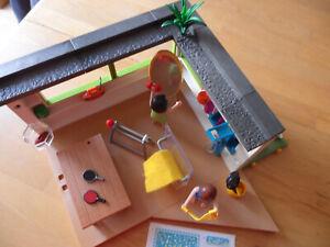 Playmobil Anbau zur Luxusvilla mit Sport-und Fitnessraum