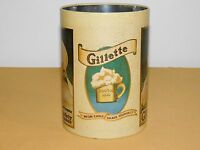 "VINTAGE 7 1/2"" CHEINCO GILLETTE SHAVING BABY SAFETY RAZOR TIN CAN"