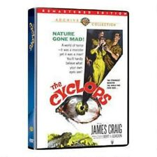 THE CYCLOPS. James Craig sci fi (1957). Region free. New DVD.