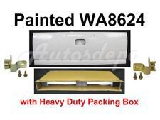 Painted WA8624 White Tailgate Side Hinge For Silverado Fleetside 1999-2006