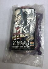1997 Burger King Kids Club UNIVERSAL STUDIOS MONSTERS Complete Set of 4 NEW