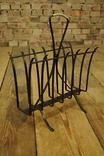 70er Magazine Rack Retro Magazine Rack Metal Magazine Rack Vintage 60er
