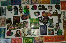 Lot of 50 License Plate Betty Boop Vending Machine Stickers 90's 00's Vintage