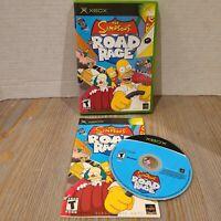 Simpsons Road Rage (Microsoft Xbox, 2001) Complete in Box CIB Black Label Tested