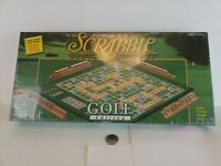 New SCRABBLE Crossword Game Golf Edition Never opened USAopoly