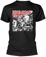 EXTREME NOISE TERROR A Holocaust In Your Head BLACK T-SHIRT OFFICIAL MERCHANDISE