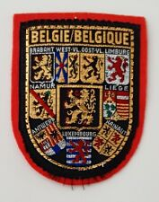 """""""Kingdom of Belgium"""" a country in Western Europe patch"""