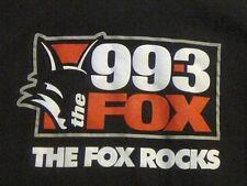 CFOX The Fox Rocks 99.3 FM Radio T-SHIRT M