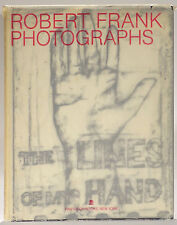 Robert Frank Photographs Lines of My Hand 1989 revised edition