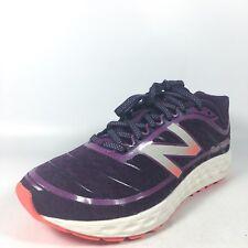 "New Balance ""W980PP2"" Womens 6 B Dark Purple White Lace Up Memory Foam Sneakers"