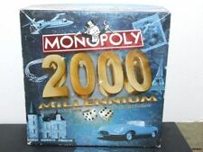 Monopoly 2000 Millennium Game Copyright 1999 Parker Brothers Hasbro