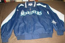 Seattle Mariners Nylon Jacket from Majestic Authentic Collection XL RARE OOP