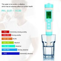 Waterproof Salinity PH EC ORP Tester Electronic Hydrometer Water Quality Tester