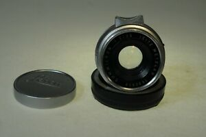 Leitz Wetzlar SUMMICRON 35mm F2 lens; eight elements, M mount,due for cleaning