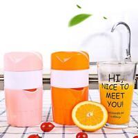 Portable 300ml Manual Lemon Juicer Orange Citrus Squeezer Fruit Coffee Cup