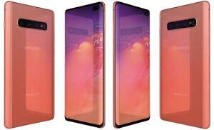 SR Samsung Galaxy S10 (SM-G973U) 128 GB Flamingo Pink GSM+CDMA Unlocked