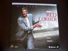 RED CORNER LASER DISC RICHARD GERE