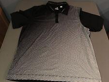 NEW Cutter & Buck Performance CB DryTec Black/White Golf Polo US SIZE XL