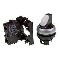 Wahltaste mit Kontakt Eaton 216518 - M22-WRK/K10 Knebelgriff, 2 Stellungen