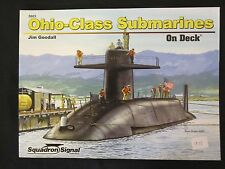Squadron Book: Ohio-Class SSBN on Deck - Color & BW Photos