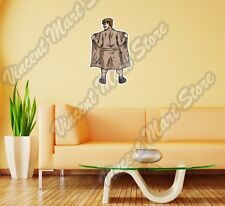 Adults Dirty Old Man Flasher Coat Wall Sticker Room Interior Decor 18