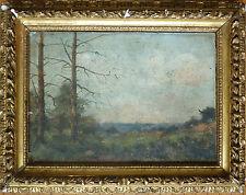 Paysage peinture de Louis CHEVALIER 19e siècle Barbizon 19th century painting
