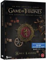 Game of Thrones Complete Second Season Steelbook Blu Ray