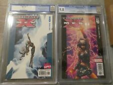 Ultimate X-Men 8 CGC 9.6 White Pages Sept. 2001 Ultimate X-Men 46 CGC 9.8 W Page
