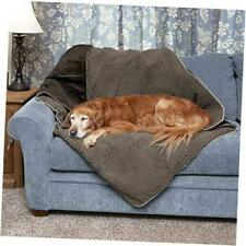 New listing Pet - ThermaNap Self Large Sherpa & Terry Espresso Self-Warming Throw Blanket