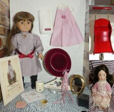 AMERICAN GIRL SAMANTHA WHITE BODY DOLL PLEASANT COMPANY ORG. OUTFIT BOOK PRAM &+