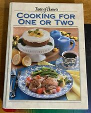 Taste of Home's Cooking for One or Two (2003, Hardcover)