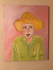 arte en oleo guajiro cubano