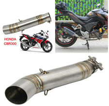 Motorcycle Exhaust Stainless Steel Middle Pipe For HONDA CBR300 Without Exhaust