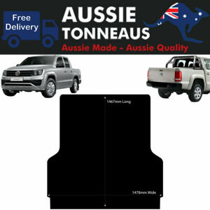Rubber Ute Mat for VW Amarok Dual Cab (2011 to Current) - Suits Factory Liner