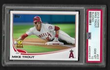 2013 Topps Mike Trout Sliding 27 PSA 10