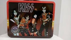 2015 KISS LOVE GUN 1977 REPRODUCED LUNCHBOX - Bif Bang Pow! 2960 made numbered