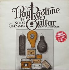 Stefan Grossman & Ton van bergeyk-How to play Ragtime Guitar (LP UK 1975)