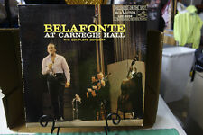 HARRY BELAFONTE AT CARNEGIE HALL RCA VICTOR RECORDS LOC-6006 VINYL LP