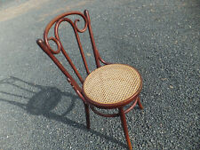 Antique Bentwood Ice Cream Parlor Type Chair with Cane Seat - Nice Shape