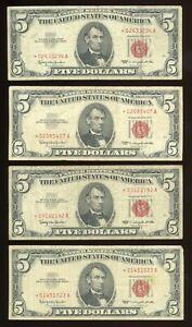 DBR $5 group of 20 legal 1963 STARs , grades range G-VF $100 Face Group B