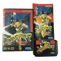 Landstalker NTSC-J Japan Sega Mega Drive land stalker Game Complete With Manual