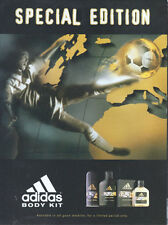 "Adidas Body Kit ""Special Edition"" 1998 Magazine Advert #4450"